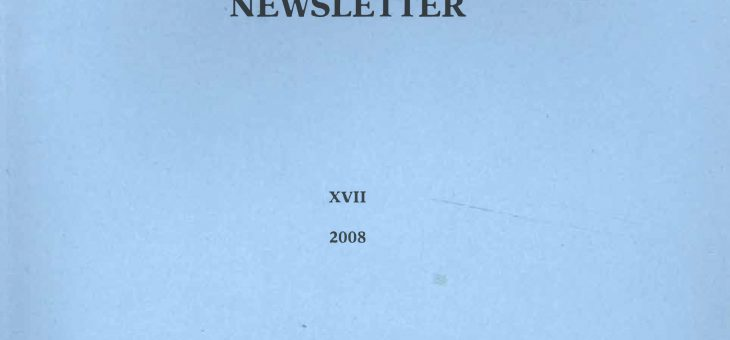 Dominican History Newsletter 17 (2008)
